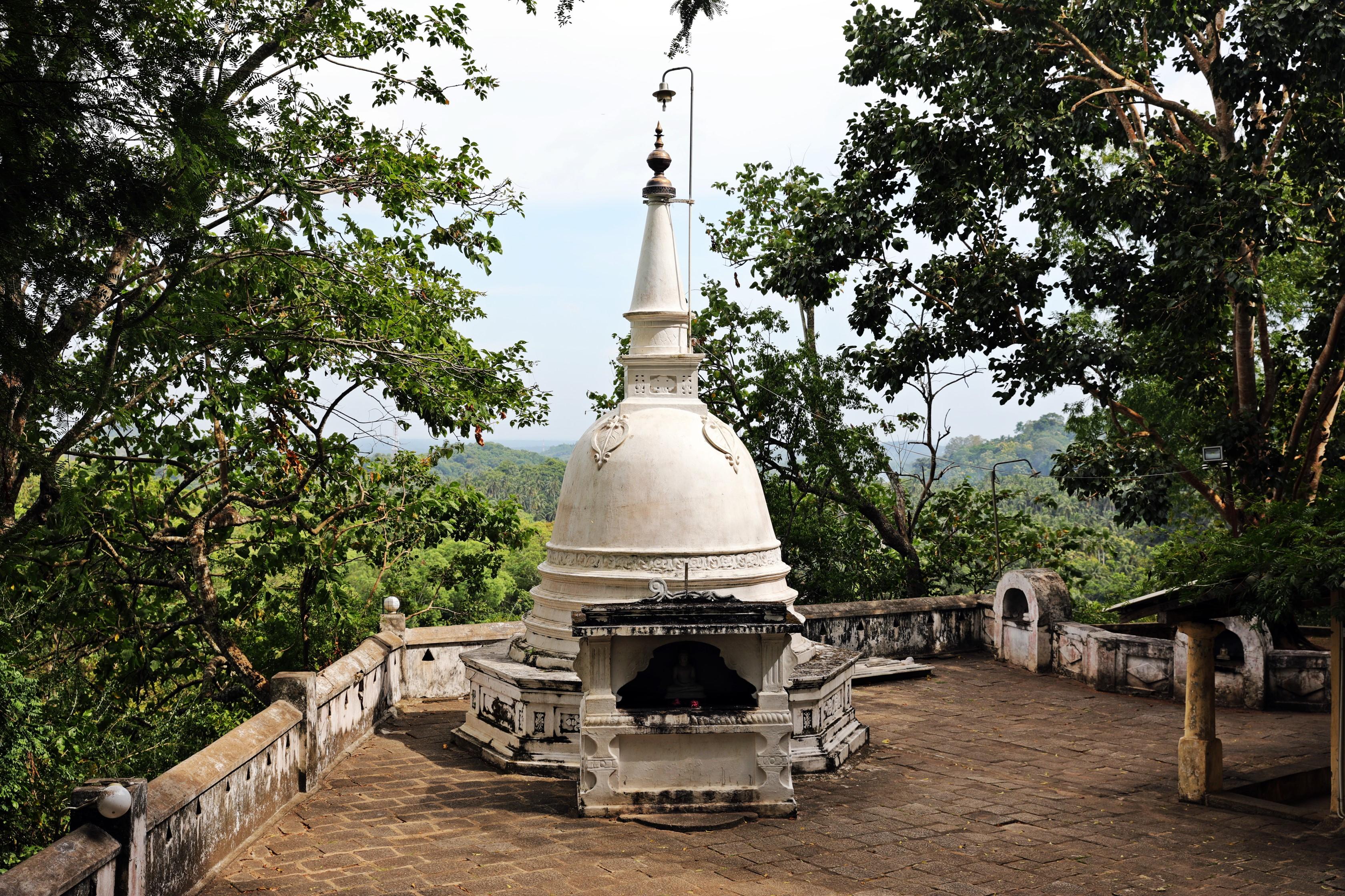 Stupa, Mulkirigala Raja Maha Vihara Temple