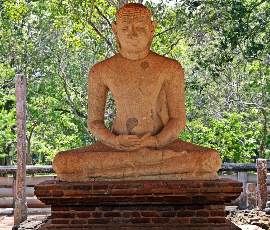Samadhi Buddha, Anuradhapura
