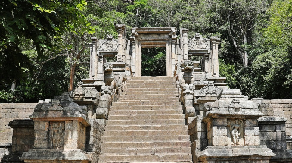 Elaborate staircase, Yapahuwa