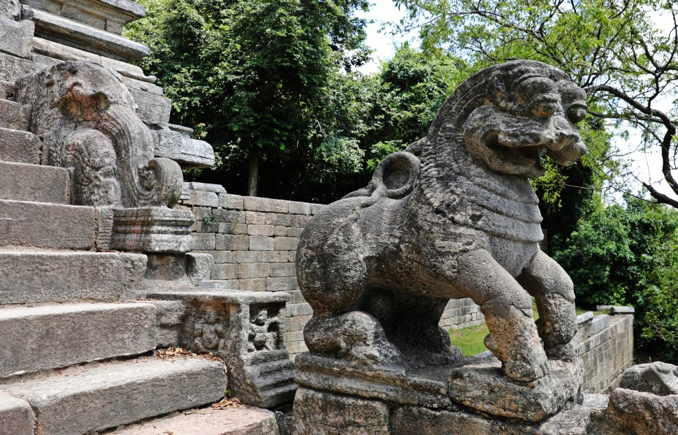 Lion Sculpture, Yapahuwa