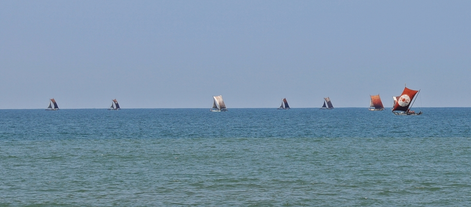 'Catamarans' near Negombo beach
