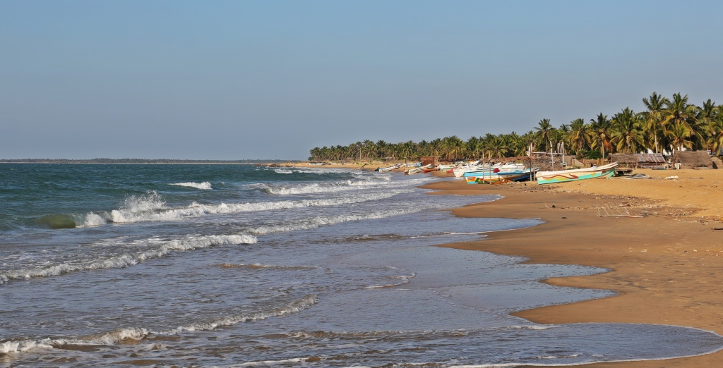 Fishing boats, Kalpitiya Beach