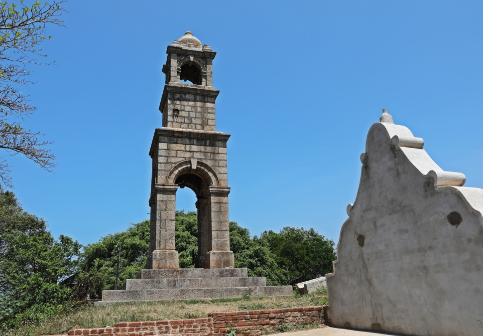 Tower from Negombo Dutch Fort