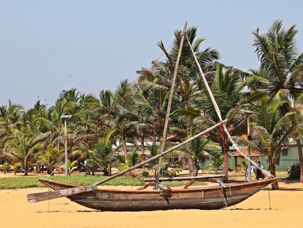 Sinhalese Catamaran-Fishing boat, Negombo