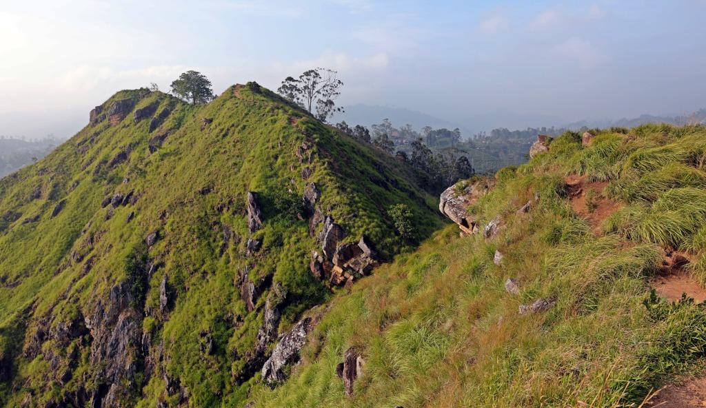 Ridge on the way to Little Adam's Peak, Ella
