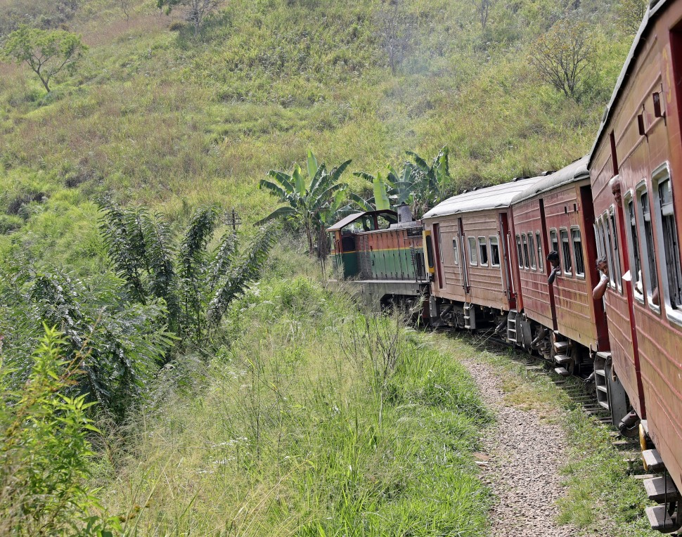 Train ride from Ella to Haputale