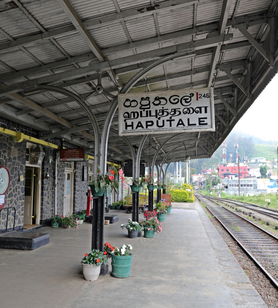 Haputale Train Station, Sri Lanka