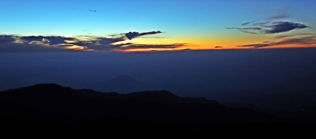 Sunrise, Lipton's Seat, Sri Lanka