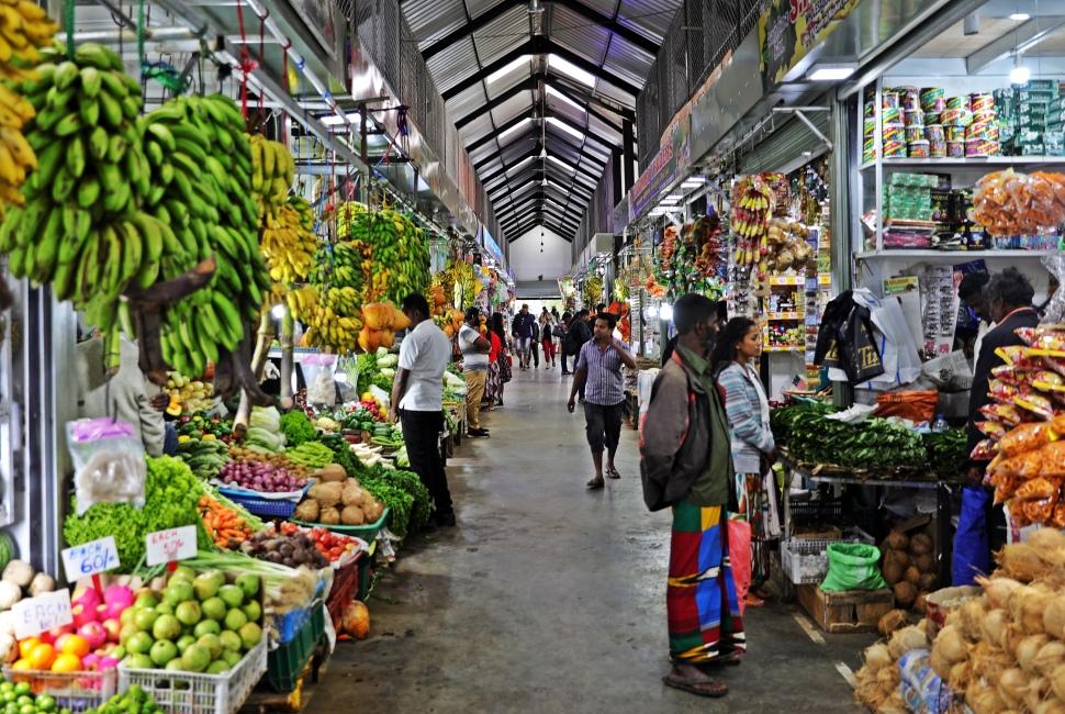 Market, Nuwara Eliya