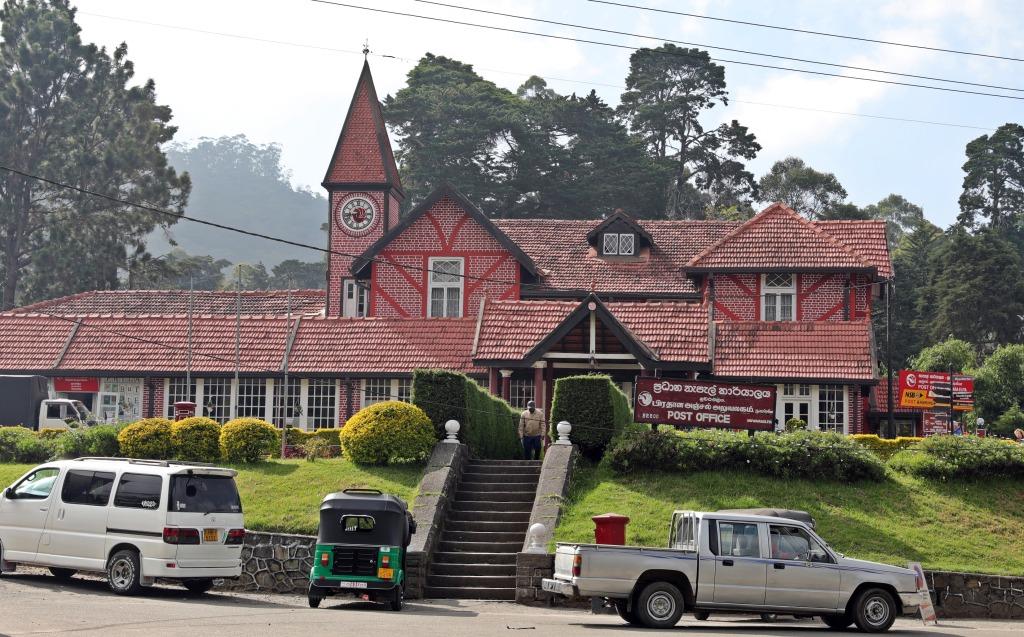 Nuwara Eliya's Colonial Post Office