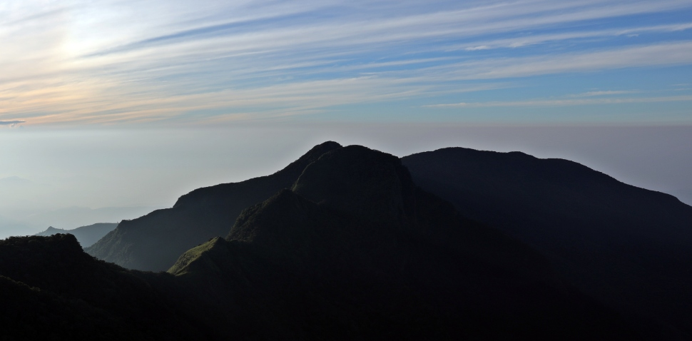 Sunrise, Little World's End, Horton Plains