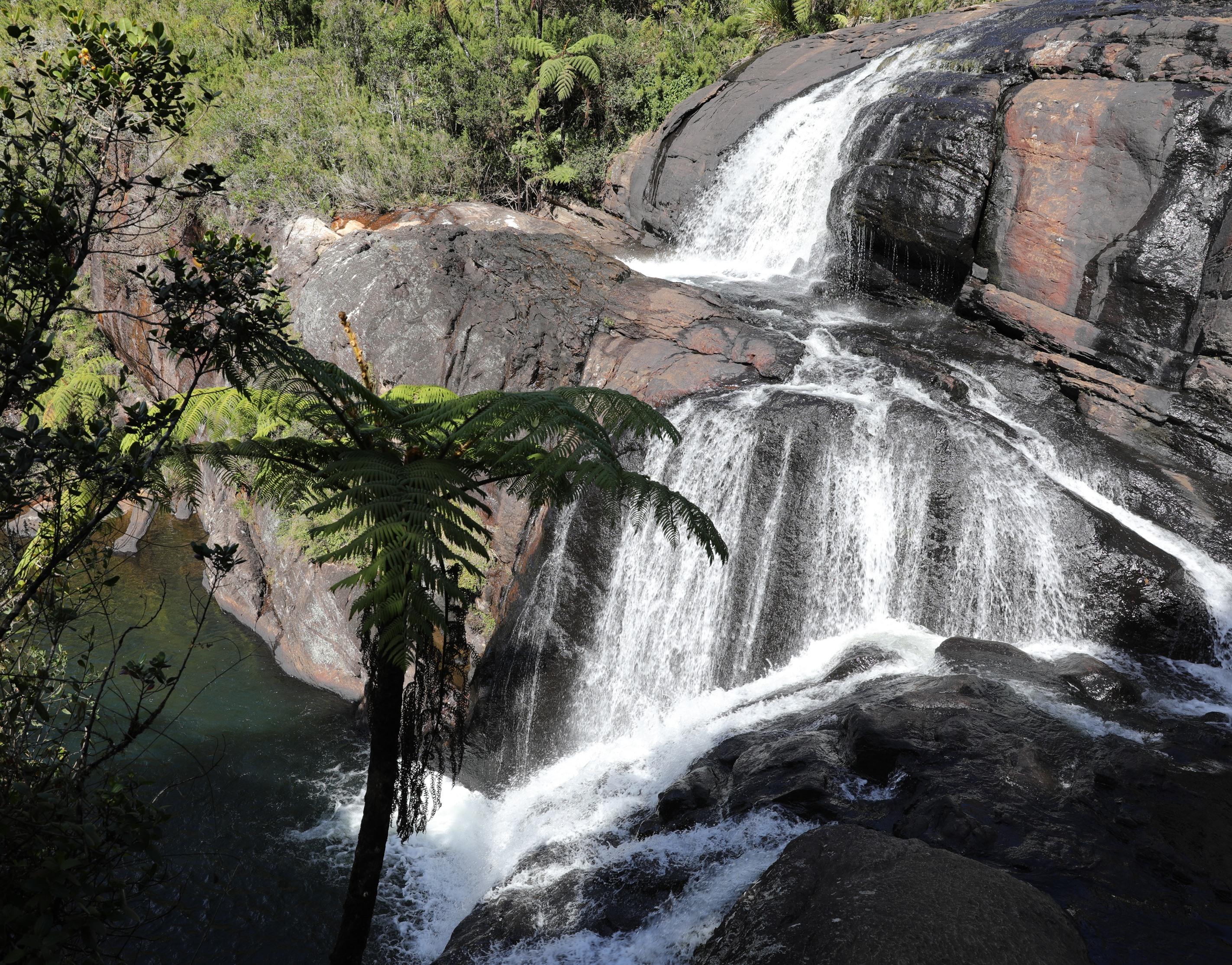 Baker's Falls. Horton Plains