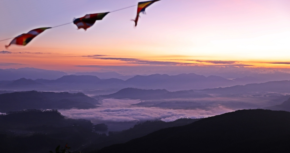Sunrise, Adam's Peak