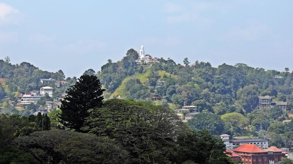 Buddha statue, Kandy