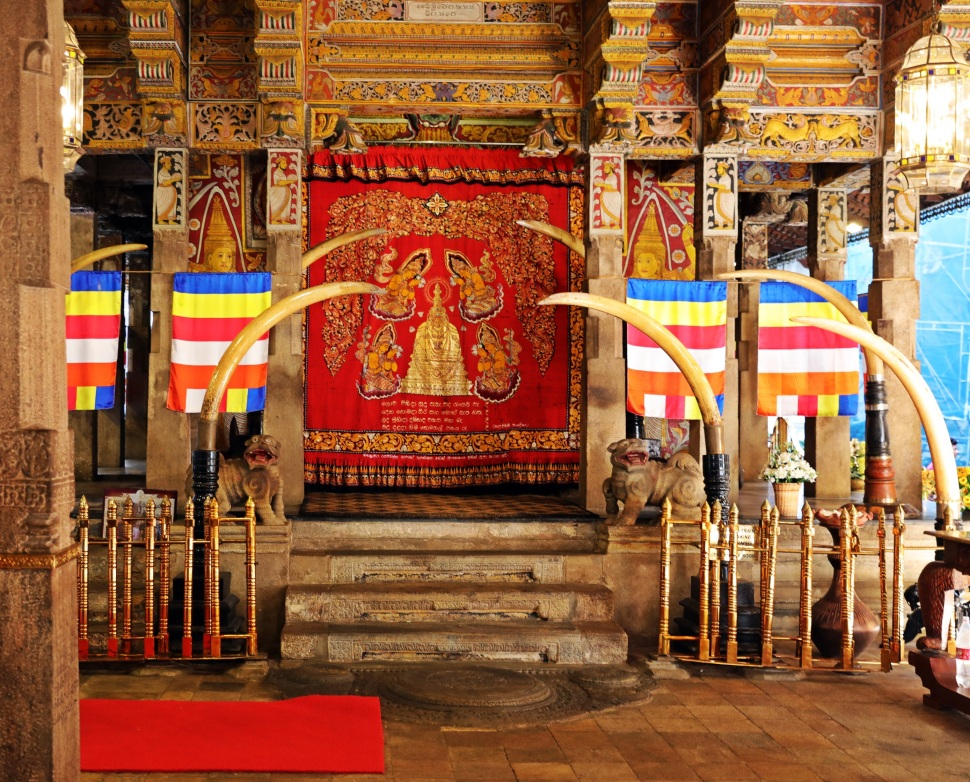 First floor, Temple of the Sacred Tooth Relic Complex, Kandy