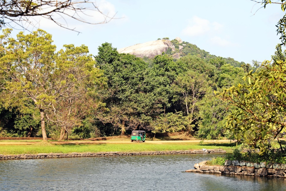 Pidurangala Rock and Sigiriya moat