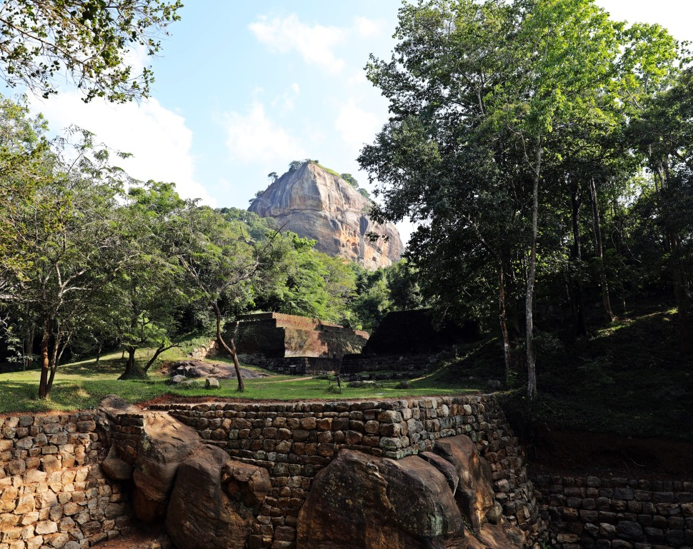 Old entrance gate below Sigiriya Rock