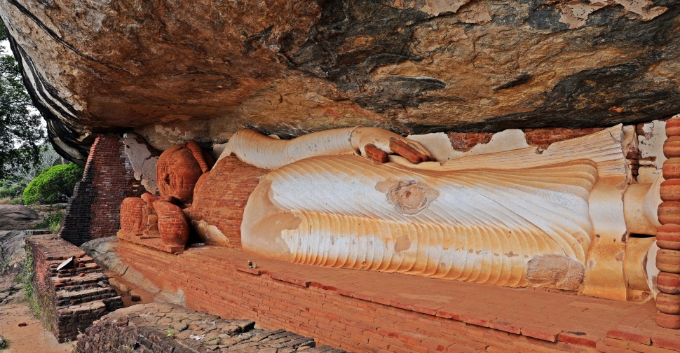 Reclining Buddha, Pidurangala Rock