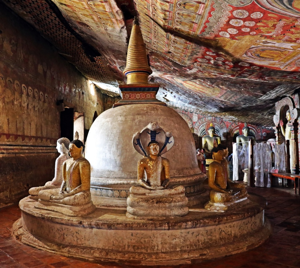 Royal Rock Temples, Dambulla