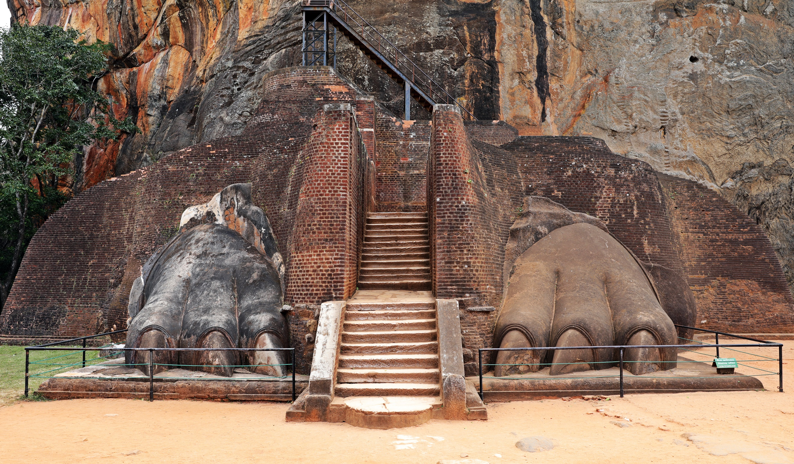 Lion's Paws, Sigiriya Rock