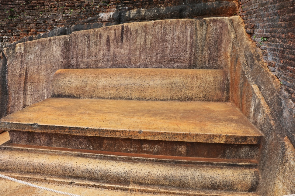 King's Throne, Sigiriya