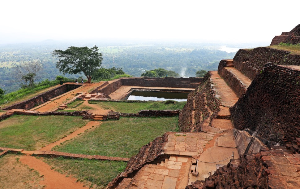 Water tank, Sigiriya Rock Palace