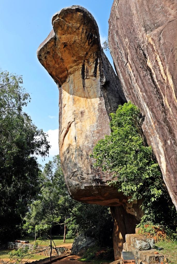 Cobra Hood Cave, Sigiriya Rock