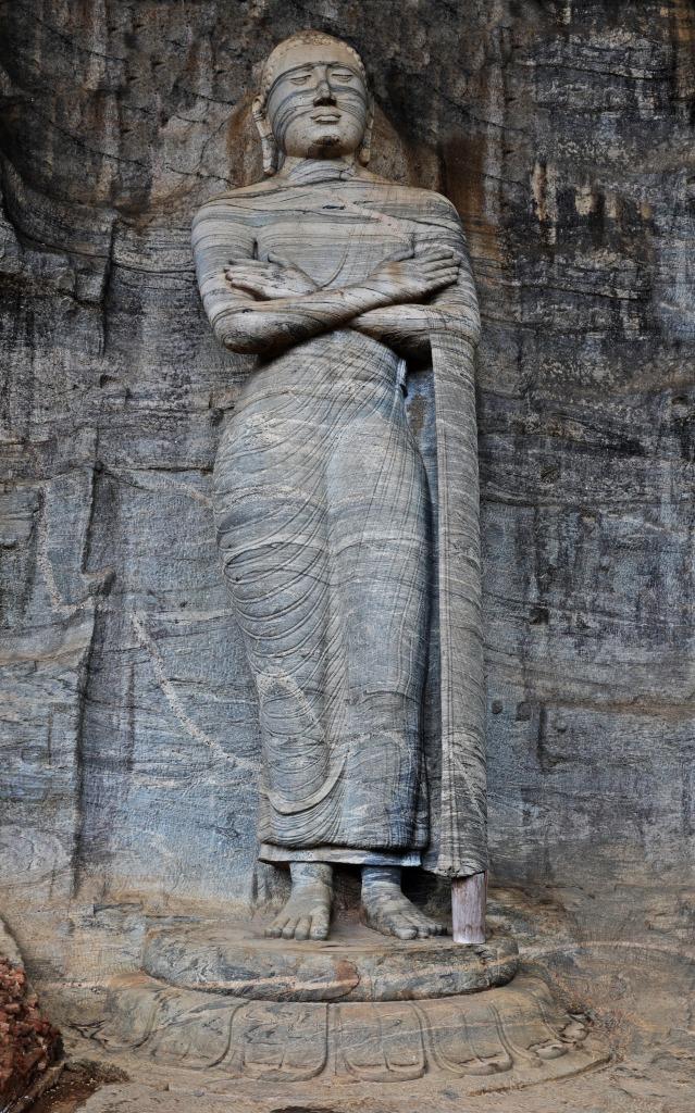 Standing Buddha, Gal Vihara, Polonnaruwa