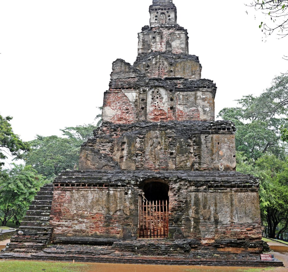 'Monkey Kingdom' Temple, Polonnaruwa
