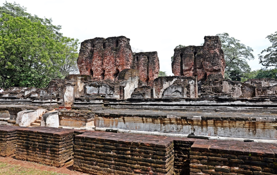11th century Palace ruins, Polonnaruwa