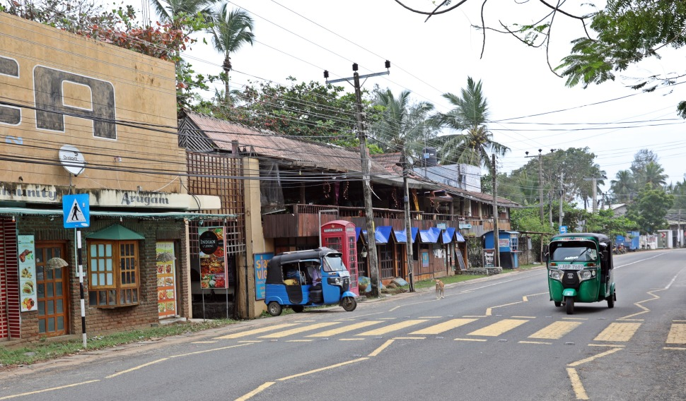 Main street, Arugam Bay