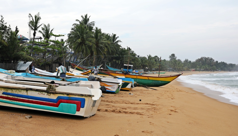 Fishing boats, Arugam Bay