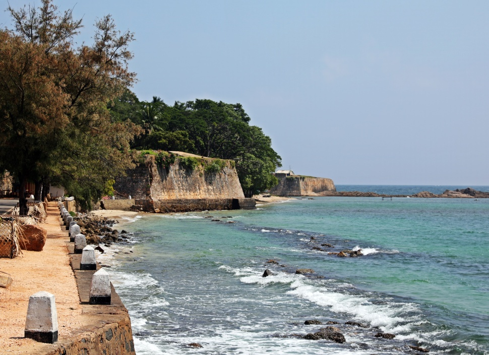 Wall of Fort Frederick, Trincomalee