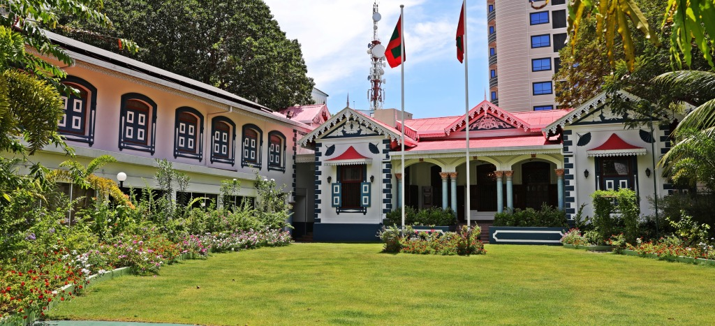 Mulee'aage, residence of the President of Maldives