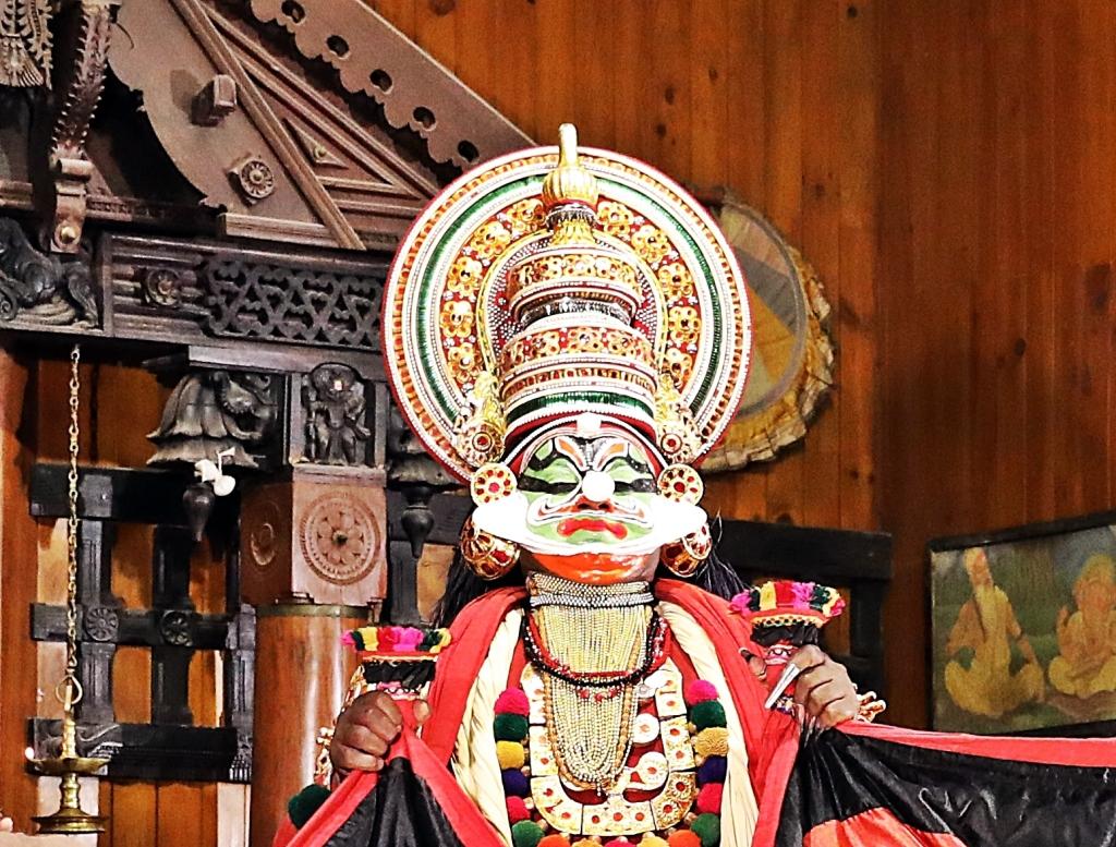 The evil Kichaka Kathakali play, Kochi
