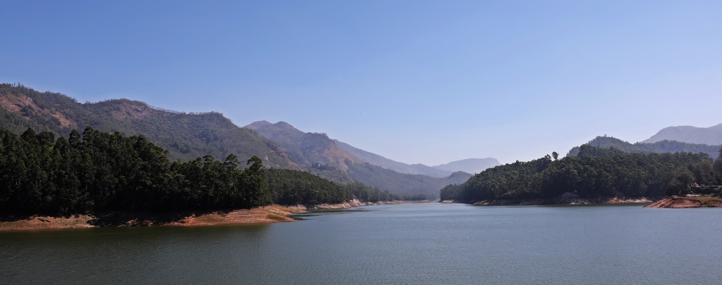 Mountain lake in the Western Ghats, Kerala