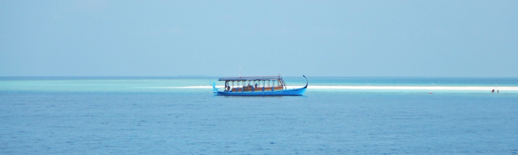 Traditional-style Dhoni (boat), Maldives