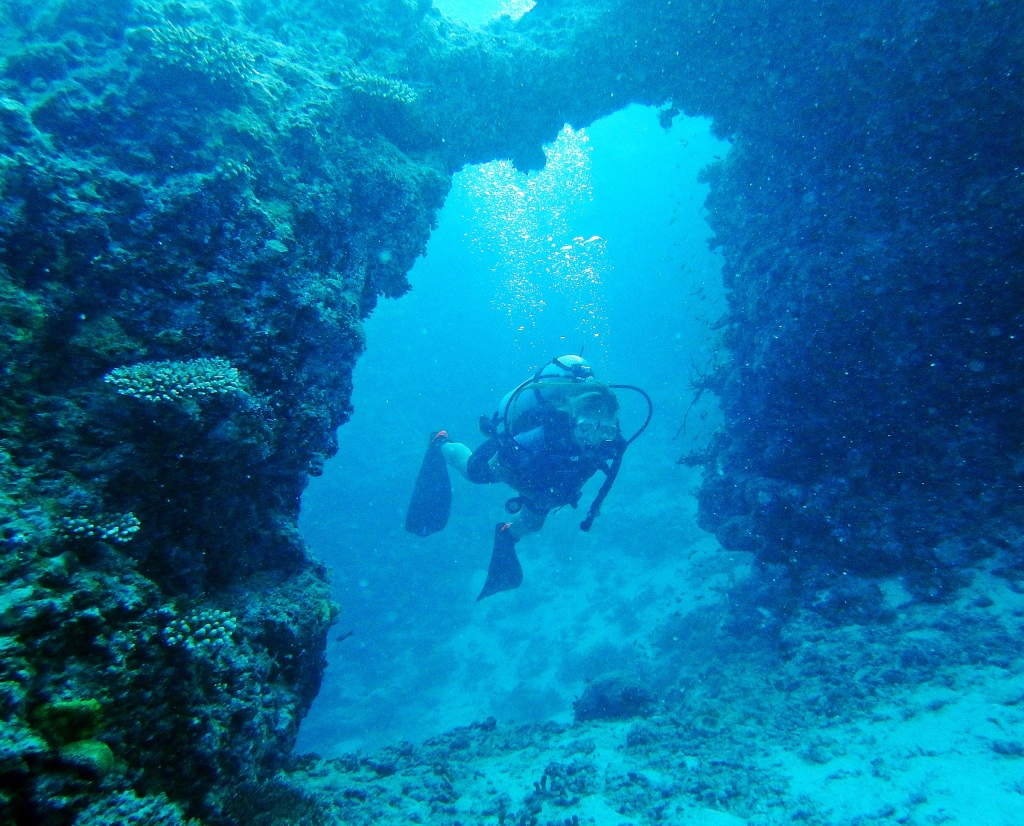 Arches dives site, Maldives
