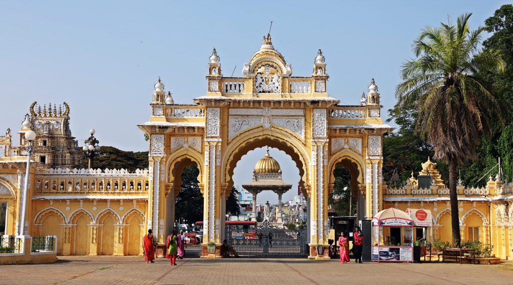 North Gate, Mysore Palace