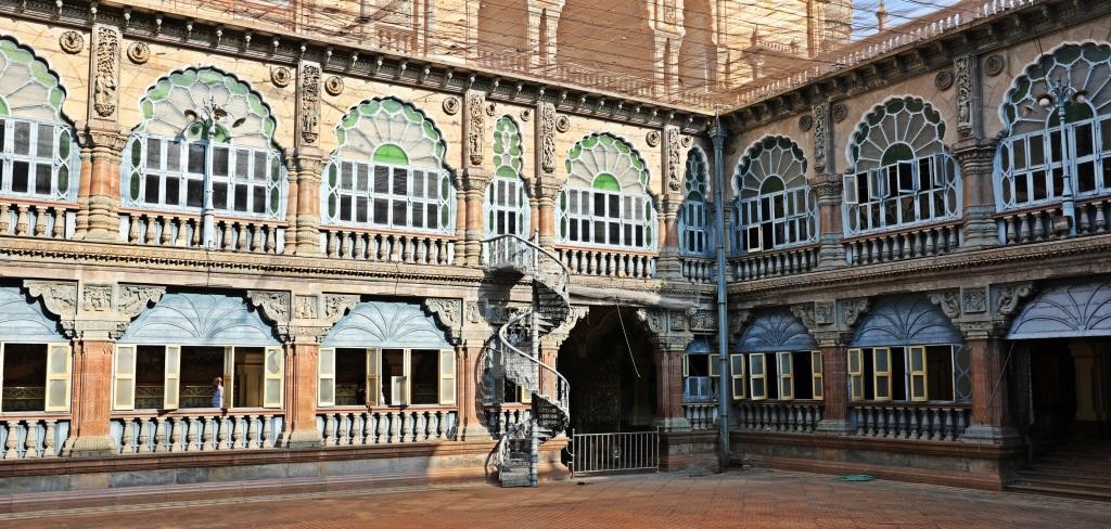 Wrestling courtyard, Mysore Palace