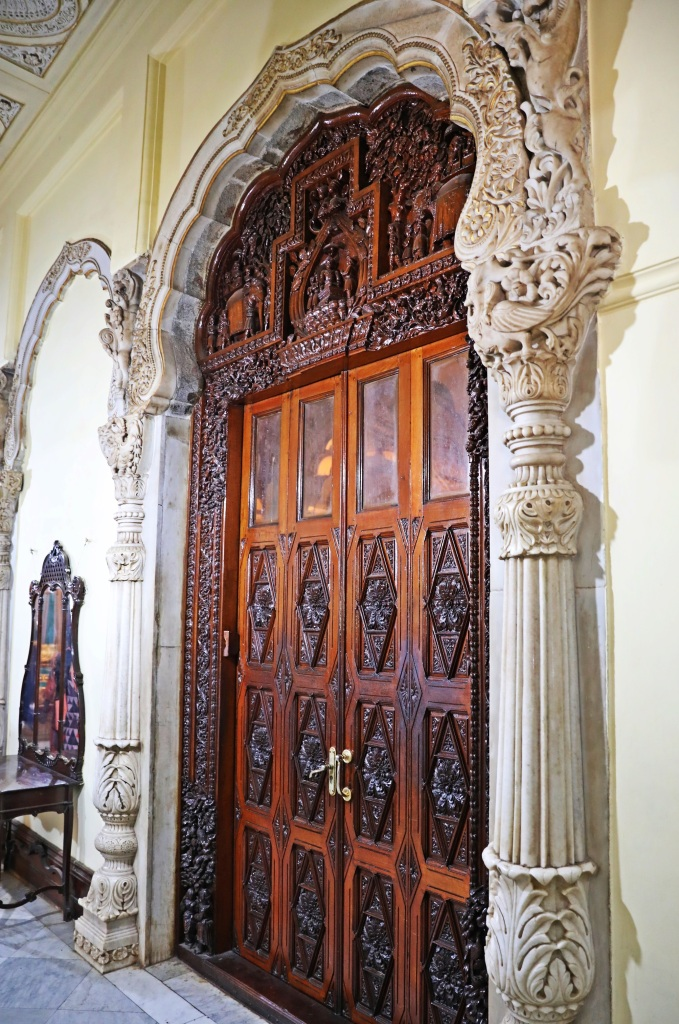 Ornate door, Mysore Palace