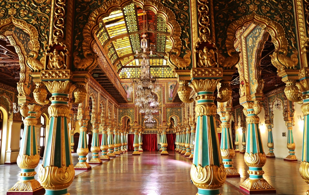 Private Durbar Hall, Mysore Palace