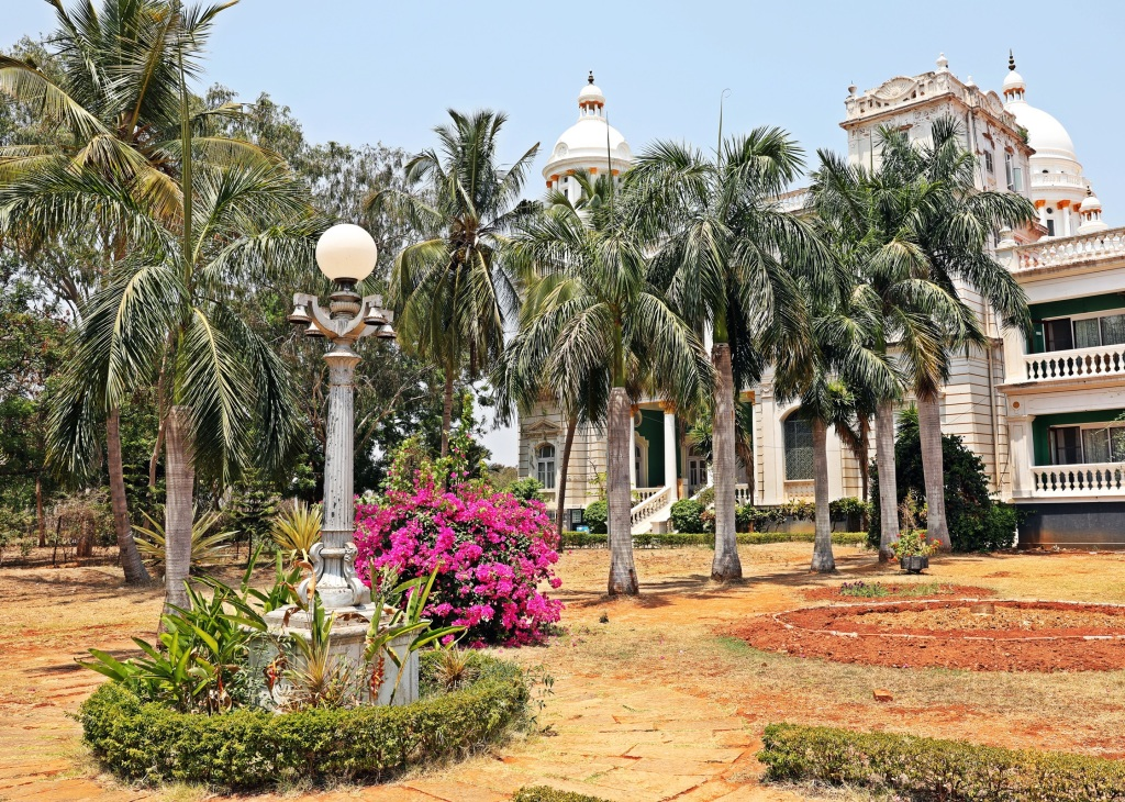 Lalitha Mahal and gardens, Mysore