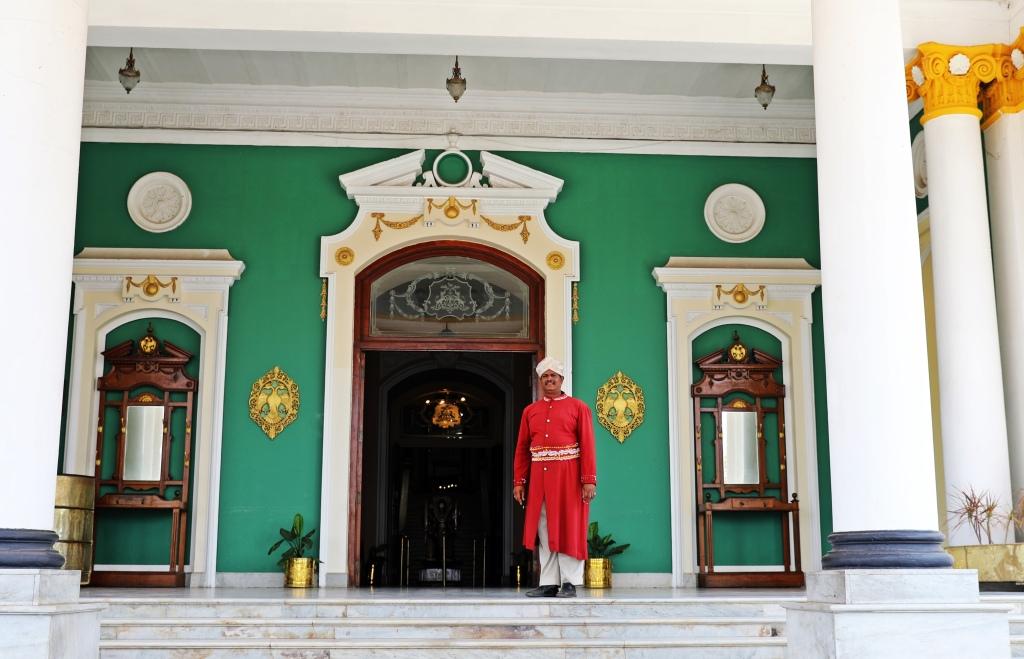 Doorman, Lalitha Mahal, Mysore