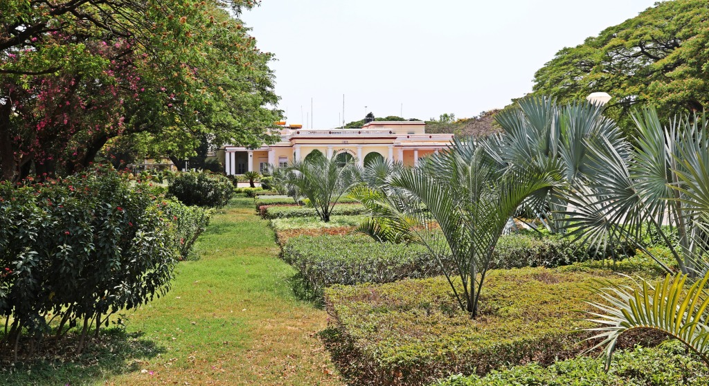 Government House and garden, Mysore