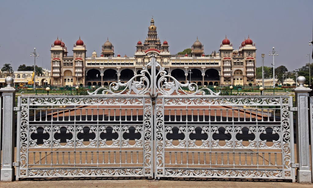 Mysore Palace and East Gate