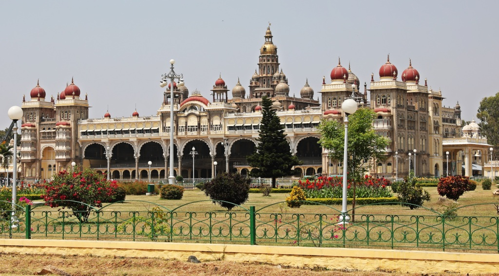 Gardens and Mysore Palace