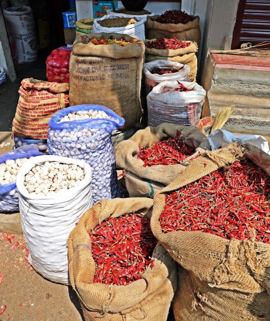 Chilies, Mysore market