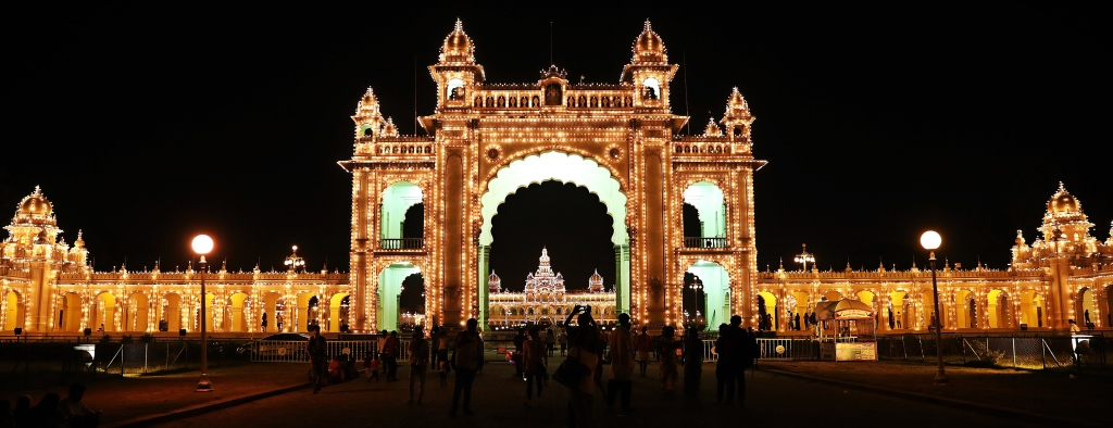 East Gate, Mysore Palace