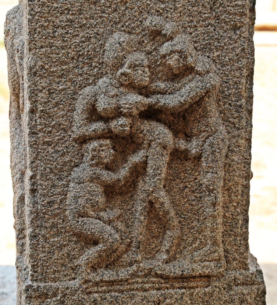 Erotica Carving, Hampi